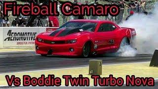 Fireball Camaro vs Boddie at No Prep Kings 2 Topeka Kansas thumbnail