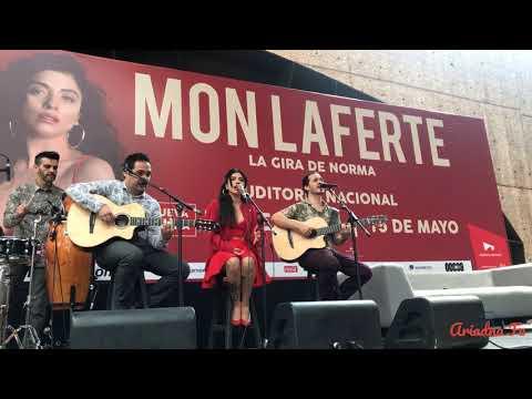 Rueda de Prensa SI alguna vez  Mon Laferte  en Auditorio Nacional