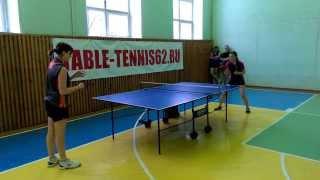 Настольный теннис. Командный чемпионат среди женщин