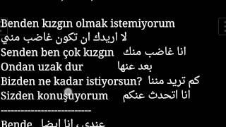 Kawara-1 تعلم اسرار اللغة تركية الضمائر الاشارة و الاتجاهات و الارقام