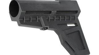 Shockwave Blade AR15 Pistol Brace & Buffer Tube Review