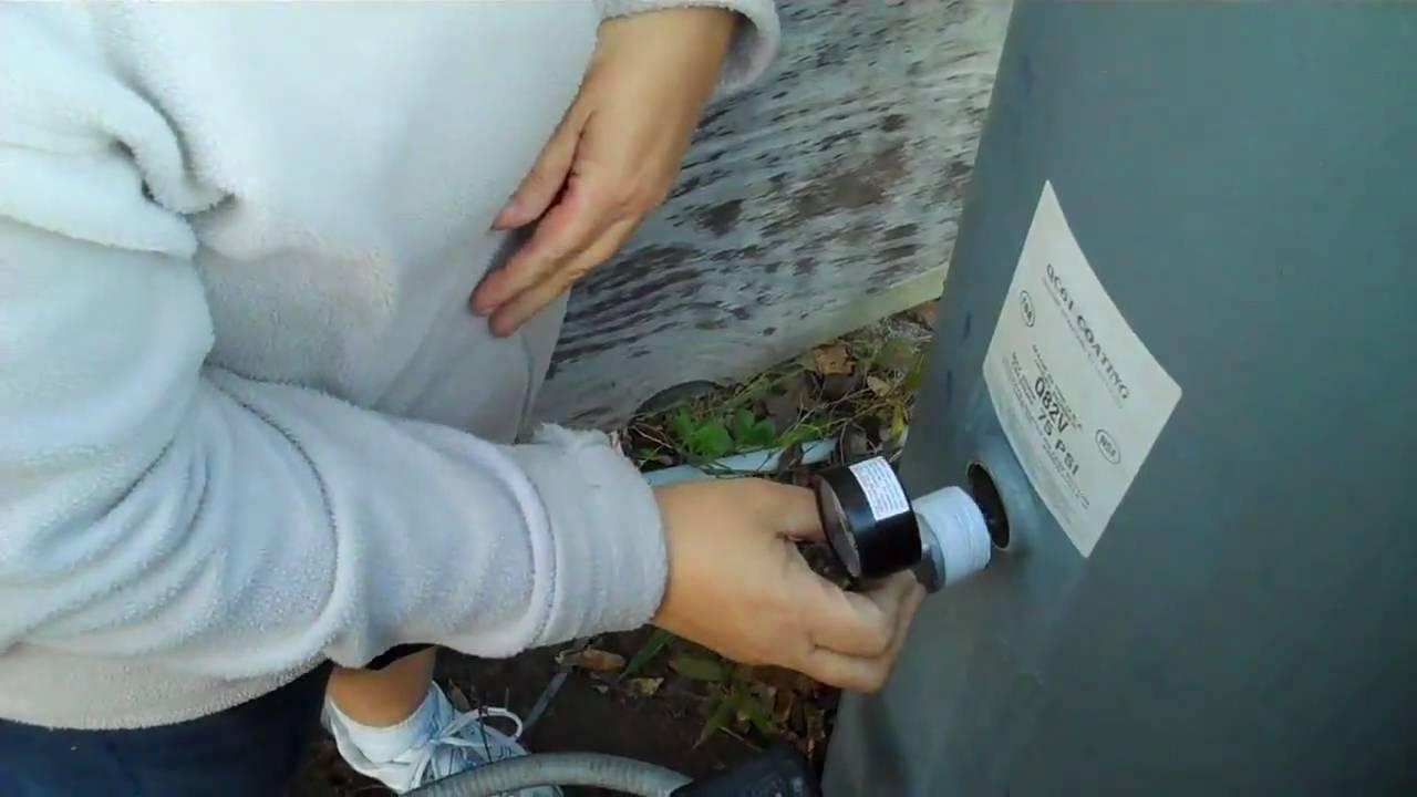 how to repair water tank