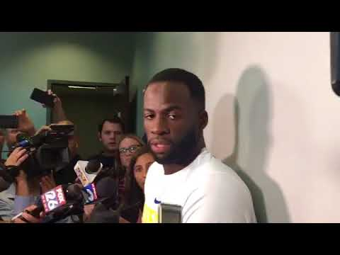 Draymond Green on the team's mood Kind of pissed off after Houston Game 4 Win!