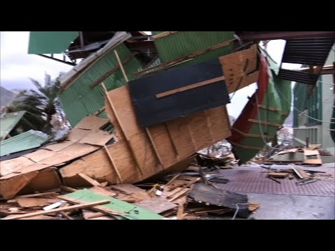 Raw: Scenes of Devastation in St. Martin