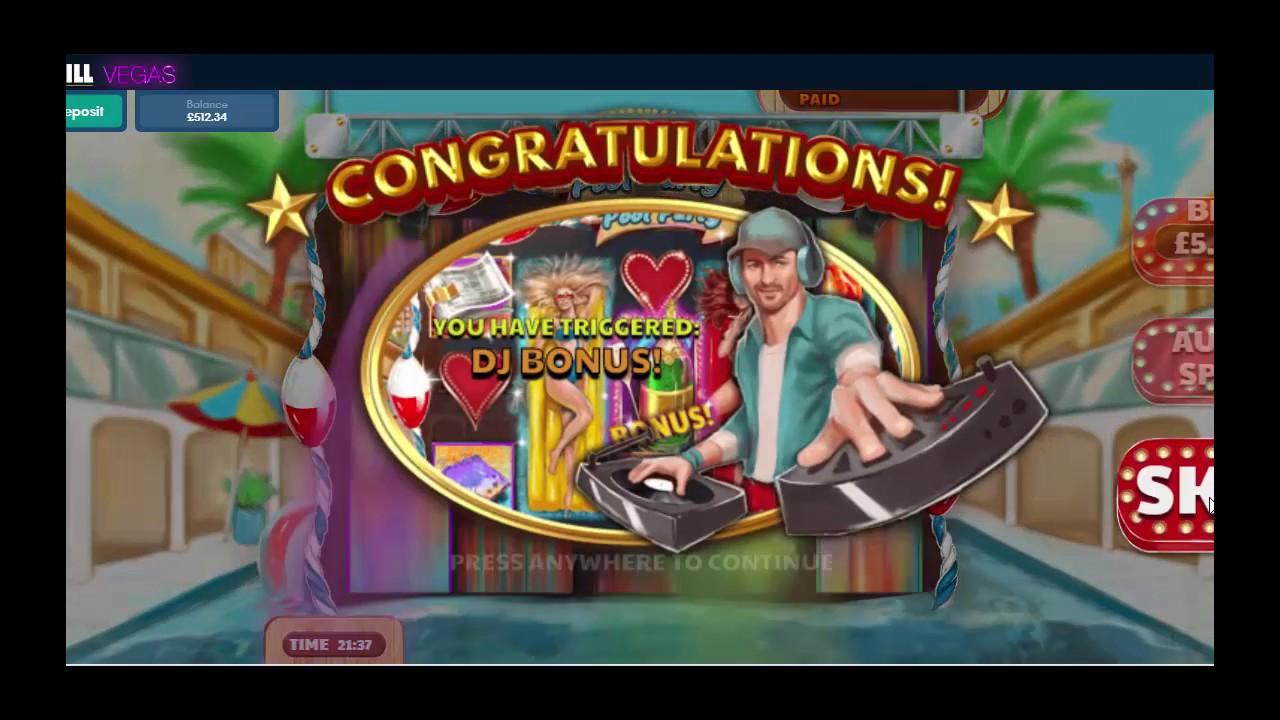Genie Jackpots & Vegas Pool Party Features Online Slots