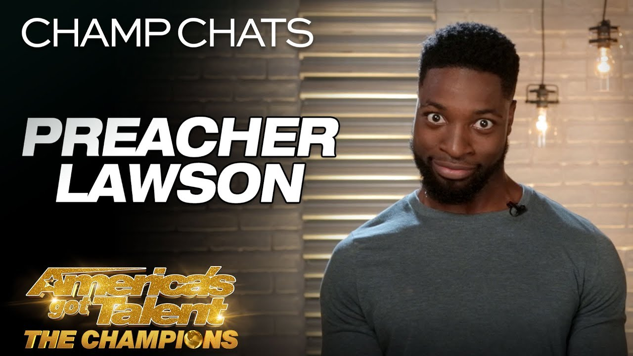 Preacher Lawson Hilariously Recaps His Performance - America's Got Talent: The Champions
