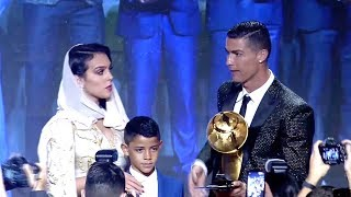 Cristian Ronaldo wins best Player Globe Soccer Awards 2018