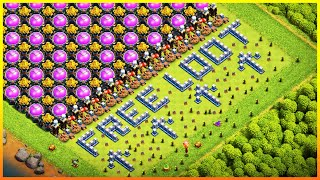 50,000,000 LOOT AVAILABLE TROLL BASE - BEST 100% WIN RATE BASE IN CLASH OF CLANS