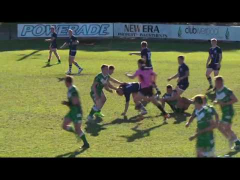 Ireland V Scotland 2nd Half - Student Rugby League World Cup 2017 - Round 2