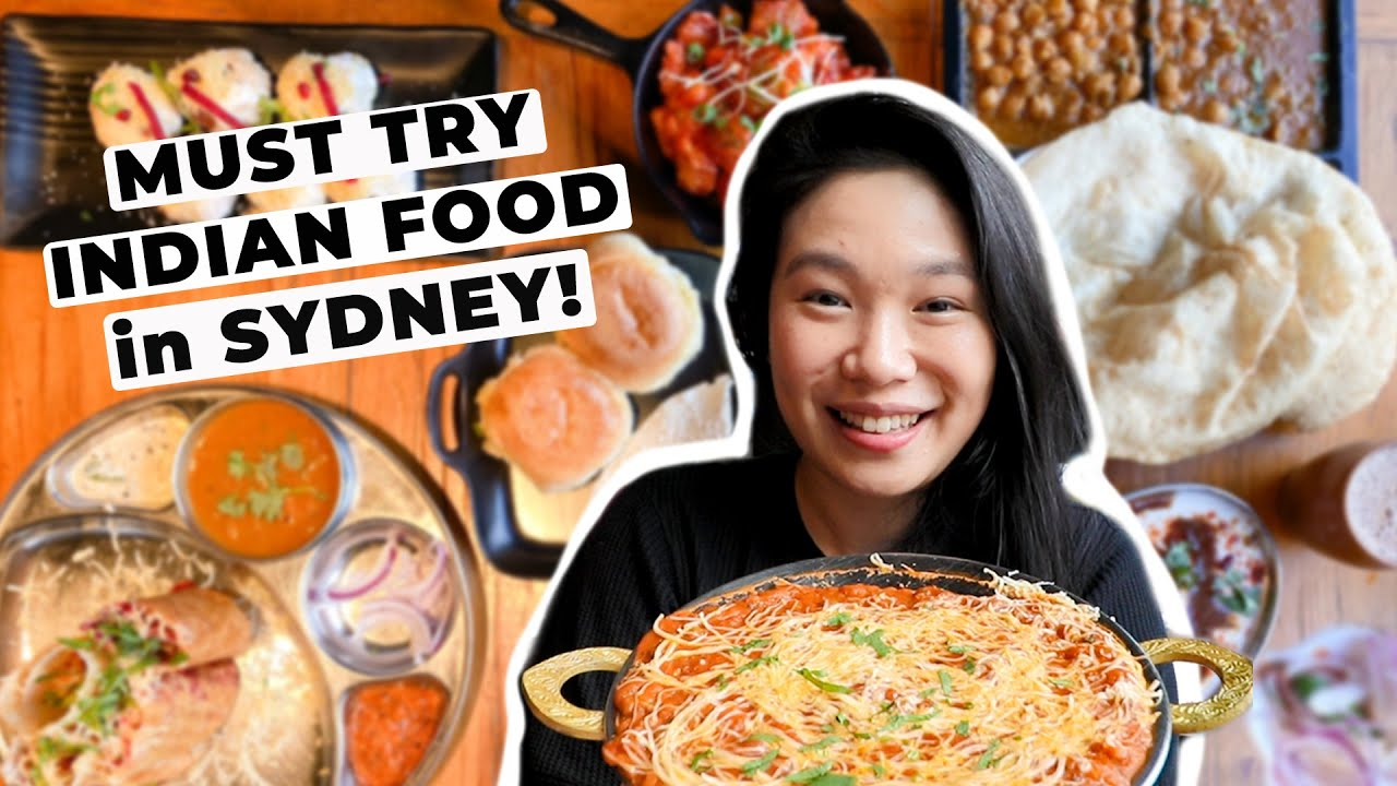 11 MUST TRY INDIAN DISHES at SYDNEY's BEST INDIAN RESTAURANTS! INCREDIBLE INDIAN STREET FOOD TOUR!