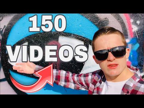 I've Made150 Videos   Celebrating Channel Milestone