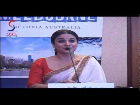 Vidya Balan Becomes The Face Of Indian Film Festival at Melbourne