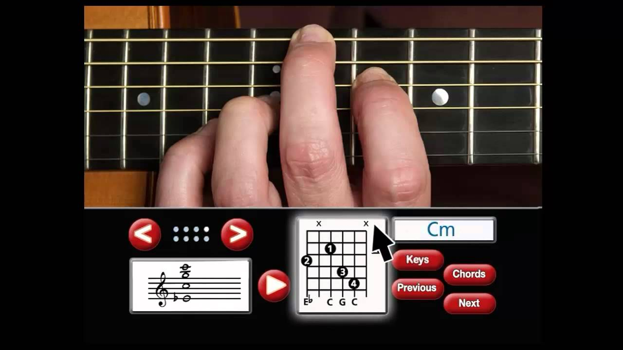 Guitar Chord Dictionary Youtube