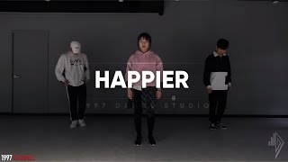 Marshmello ft. Bastille - Happier l CHOREOGRAPHY @DAEGIL HAN @1997DANCESTUDIO Video