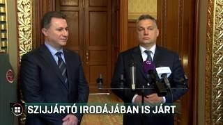 Szijjártó irodájában is járt Gruevszki  19-06-13