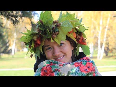 Осеннее украшение на голову своими руками