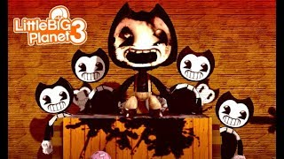 LittleBIGPlanet 3 - BENDY AND THE INK MACHINE COSTUME [Part 1 and 2] Playstation 4