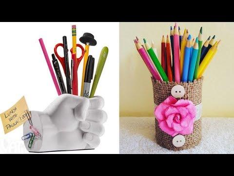 5 Amazing Recycle DIY Crafts #Bestof2018 - Paper Crafts - #RecycleCrafts #5-MinuteCrafts