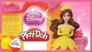 Pâte à modeler Play-Doh en français - Princesse Disney - La belle et la bête