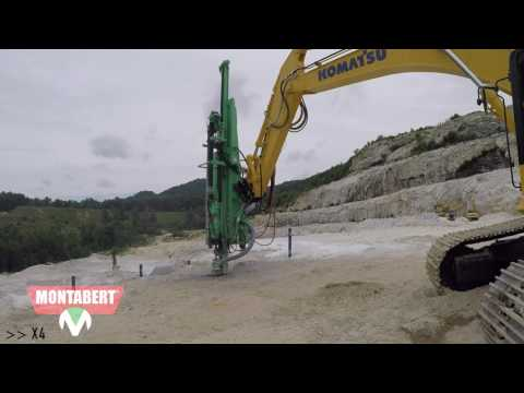 CPA X-Tend – Montabert CPA X-Tend Drill Attachment in Action!