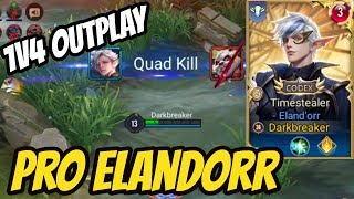 ELANDORR PRO 14 KILLS + QUAD KILL GAMEPLAY | AoV | 傳說對決 | RoV | Liên Quân Mobile