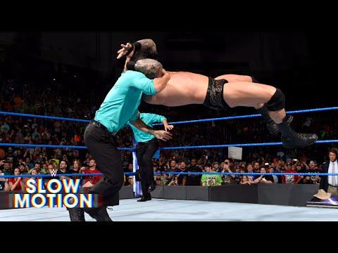 Take a closer look at Randy Orton's attack on Jinder Mahal: June 20, 2017