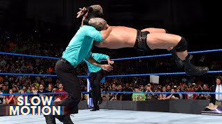 Take a closer look at Randy Orton's attack on Jinder Mahal: June 20, 2017