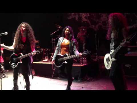 Marianné w/ Marty Friedman LIVE at the Oakland Metro Operahouse, 01/17/17