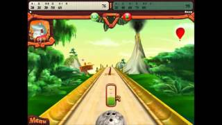 Elf Bowling Hawaiian gameplay part1/3 Xmas specail