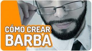 Cómo crear barba realista con la herramienta pincel - Tutorial Photoshop en español