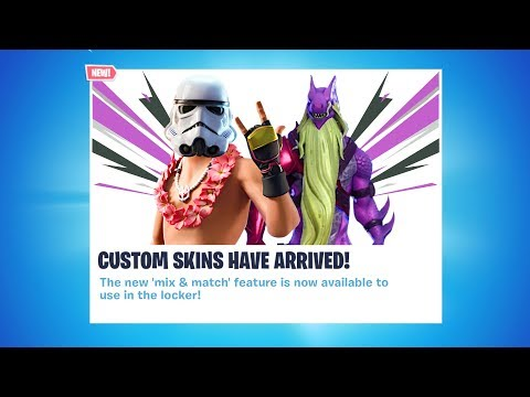 Create YOUR OWN SKIN NOW In Fortnite! (Chapter 2 Custom Skin Guide)