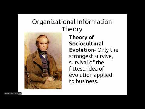 Organizational Information Theory Lecture