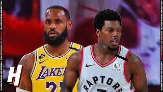 Los Angeles Lakers vs Toronto Raptors - Full Game Highlights August 1, 2020 NBA Restart