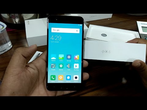 Hindi/Urdo. Mi 6 Unboxing and hands on Available in dubai