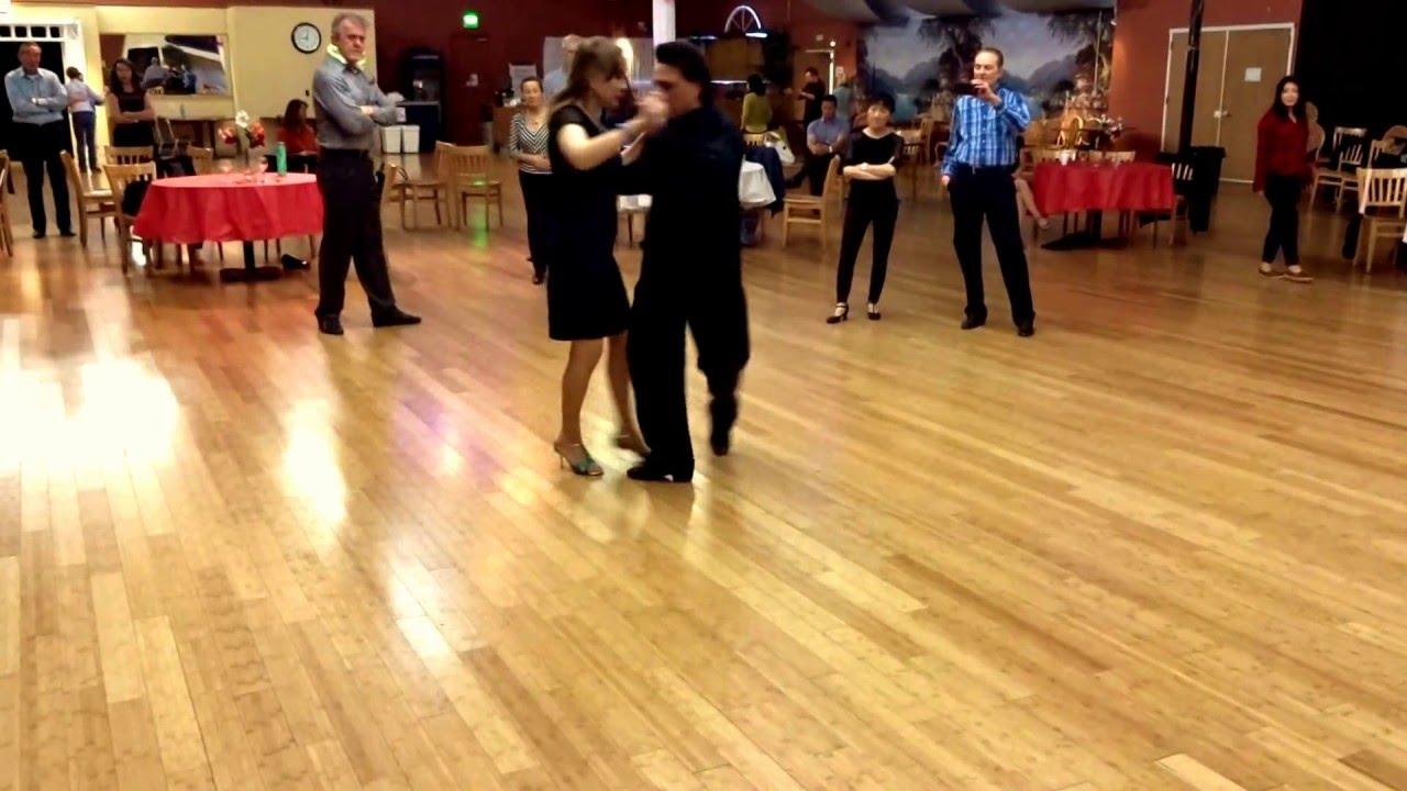 Argentine Tango steps: Cadenas (Chains) www.tangonation.com 4/10/2016 - YouTube