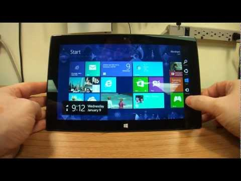 Microsoft Surface Tablet. Screen Rotation Lock. Enable Or Disable.