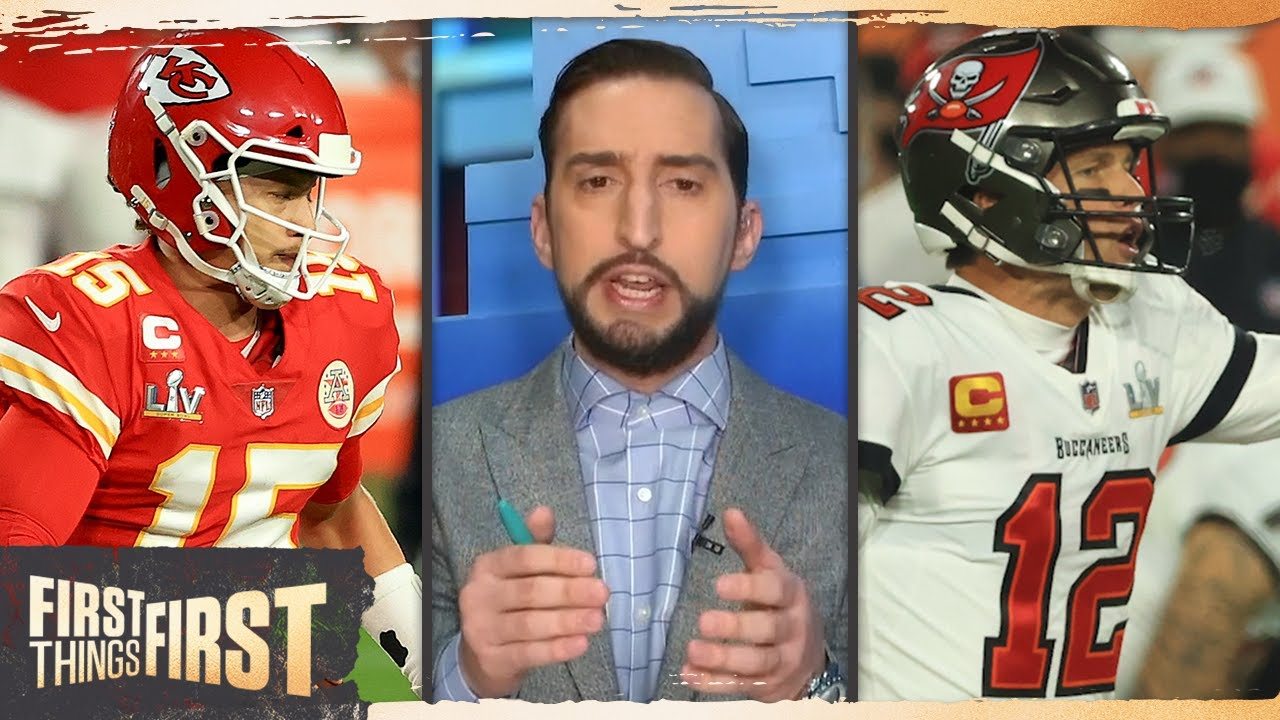 Brady brought worst franchise to Super Bowl; 'Majestic' TB defense – Nick | NFL | FIRST THINGS FIRST - download from YouTube for free