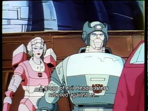 Transformers - Japanese Collection: Headmasters - Clip 1