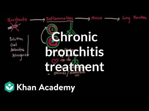 Chronic bronchitis treatment | Respiratory system diseases | NCLEX-RN | Khan Academy