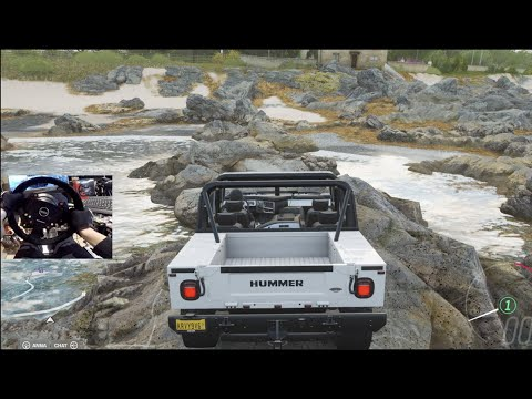 Forza Horizon 4 GoPro - OffRoading H1 Hummer Alpha vs 1500hp Drift Build thumbnail