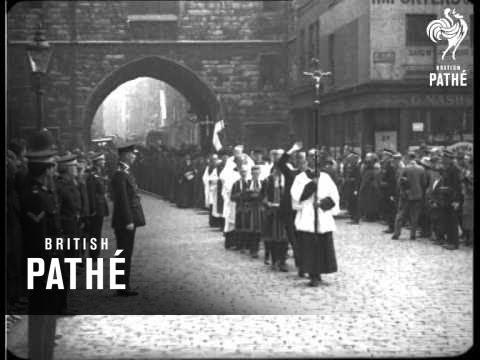 Order Of St. John Of Jerusalem & Cuts (1926)