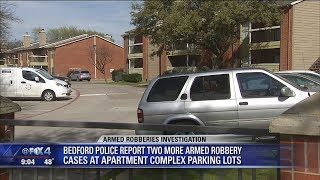 Texas police warn of armed robbers targeting women in apartment parking lots