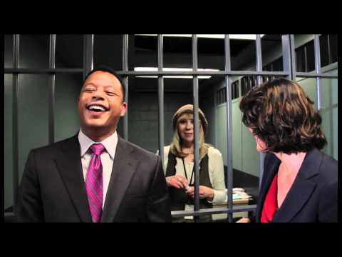 Terrence Howard and Alana De La Garza are thrown behind bars