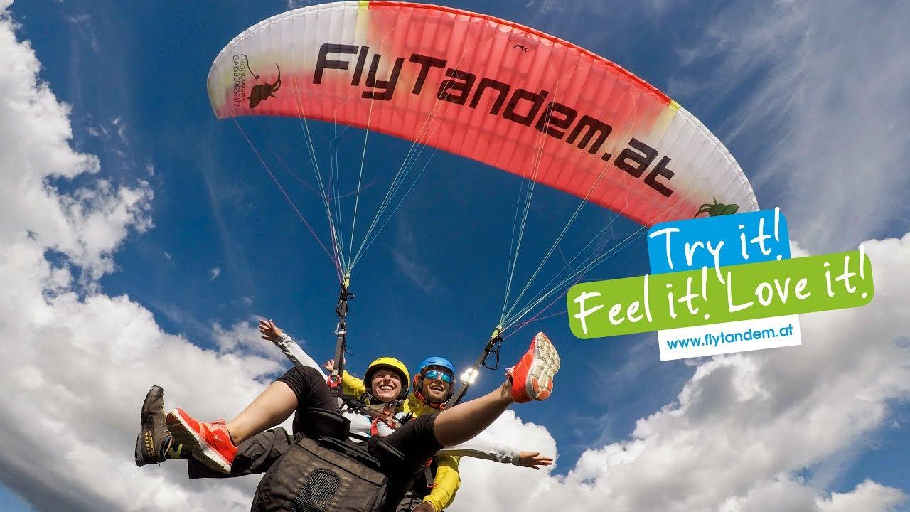 FlyTandem | Tandem paragliding in Salzburg