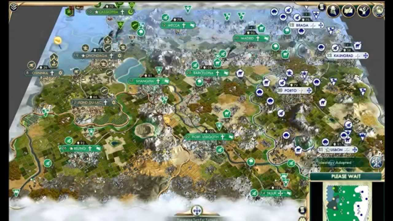 Civilization  Where Build Cities