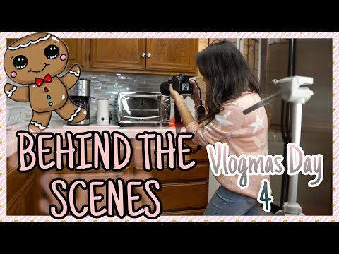 HOW TO FILM A YOUTUBE VIDEO - BEHIND THE SCENES OF FILMING A YOUTUBE VIDEO