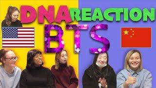 BTS(방탄소년단) - DNA MV Reaction 미국 vs 중국 리액션 비교