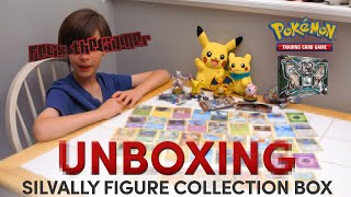 Pokémon Card Unboxing | Silvally Figure Collection Box
