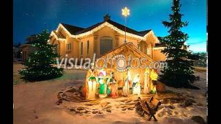 Outdoor Christmas Nativity Scenes