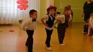 Зажигательный танец 'Милый, смешной, игривый', утренник 8 МАРТА